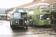 Crosville KFM775 & FJA194B Macclesfield 03/11/74 Bus Photo