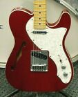 Fender Deluxe Thinline Telecaster Electric Guitar! Candy Apple Red! NO RESERVE!