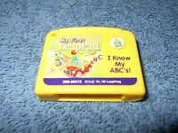 LEAPFROG - MY FIRST LEAPPAD - I KNOW MY ABC'S - GAME CARTRIDGE ONLY - NICE