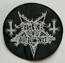 Dark Funeral Circle EMBROIDERED PATCH
