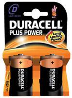 2 X Batteria Duracell pila alcalina tipo D TORCIA cod. 0068
