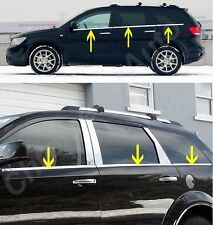 Dodge Journey Chrome Window Sill Trim Stainless Steel 6pcs 2009-2015 NEW