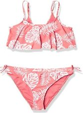 Roxy Girls' California Friends Flutter Two Piece Swimsuit