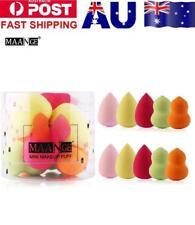 10 Pcs Makeup Foundation Sponge Blender Puff Powder Smooth Beauty Set