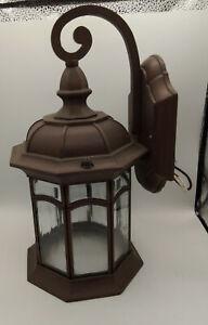 Refurbished Outdoor Kichler-Lighting 1-Bulb Aluminum POST Lamp LIGHT 197868