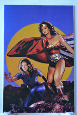 Wonder Woman '77 Meets the Bionic Woman #4 Variant 1:10 Virgin Cover DC Comics