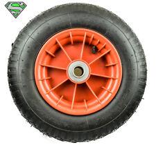 "16"" Wheel Barrow Wheel Plastic 25mm Shaft Wheelbarrow Tyres Plastic Rim"