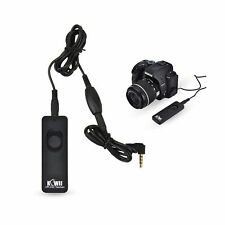 Kiwifotos Remote Switch Shutter Release Cord for Canon EOS Rebel T6/T7/T5/T3/...