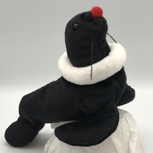 AVON Full O' Beans Plush Animal Juggler the Seal Includes All Tags