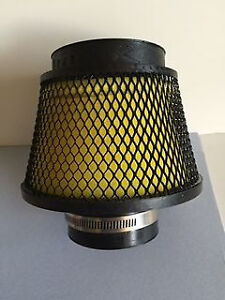 """WEAPON R YELLOW V2 HYPER 3"""" Foam Air Filter 7"""" TALL  BLOW OUT DISCOUNT"""