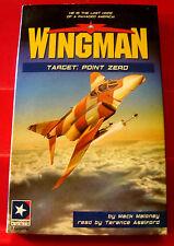 Mack Maloney Wingman #12 Target: Point Zero 2-Tape Audio Book Terence Aselford