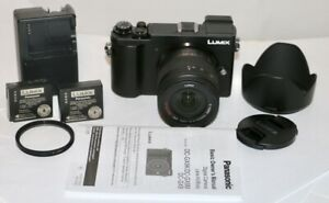 Panasonic Lumix GX9 20.3MP + 14-45mm + 2x Batteries, Charger, Instructions, NICE