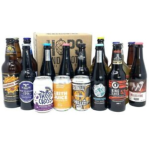 Hops and Shots Craft Beer and Cider Selection Case - Ideal Gift
