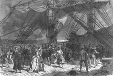 SURREY. True to Core, Theatre, antique print, 1866