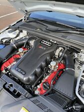 AUDI RS4 B8 ENGINE TOP COVER TRIM CARBON DIPPED