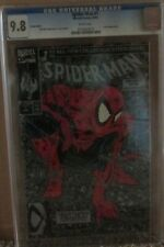 SPIDER-MAN #1 CGC 9.8, LIZARD Appearance! SILVER EDITION! TODD McFarlane Story!