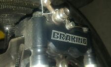 Étrier Radiaux 4 Pistons monobloc Braking 100mm racing Radial race Caliper