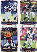 2014 Topps 19 card Team set Denver Broncos Manning Welker w/ 2 RC Latimer Roby