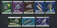 32112) Hungría 1964 MNH U. S. & USSR Nave Espacial 8v