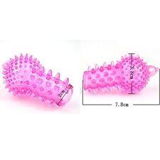 FOR STIMULATION 2PC Finger CONDOMS Multicolor Wholesale Adult supplies tools