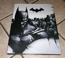 Batman: Arkham Origins Limited Edition Hardcover Strategy Guide book Brady Games