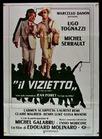 Manifesto El Vizietto Ugo Tognazzi Michel Serrault Moricone M65