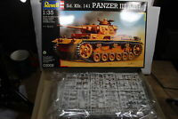 Revell 03005 Panzer III Ausf. J Sd. Coche. 141 1 :3 5 Emb.orig S. S. Fotos