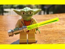LEGO STAR WARS CLONE YODA JEDI MASTER LIGHTSABER RETIRED EDITION MINIFIGURE RARE