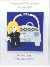 Personalised Handmade Female Graduation Card
