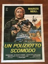 MANIFESTO 2F M,UN POLIZIOTTO SCOMODO,MERLI MASSI,ALFA ROMEO GIULIA AUTO CAR
