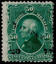 ar32 Mexico #110 50ctv, Jalapa 20-77 Mint Part Original Gum Est $10-20