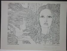 Through Whom My Power Flows  by Michael Kaluta  Sgnd + Numb. Print 1147/1500