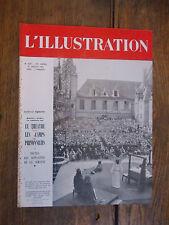 L'illustration 5238 31 juillet 1938 Les Hospices de Beaune célèbrent le Ve cente
