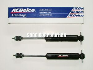 1992-2002 Ford Crown Victoria Front ACDelco Gas Shock Absorbers Ext 14.61 Comp 9