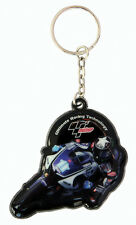 Ben Spies Yamaha Moto GP Rubber Keyring Keychain