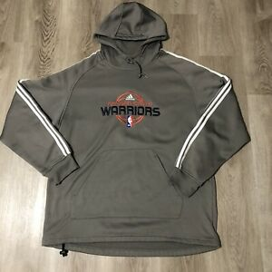 Retro Adidas Golden State Warriors Hoodie Gray Rare Large 30.5 in. L 25 in. W