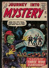 MARVEL ATLAS Comics 2.5 G+ Journey into mystery 50 1959 Joe sinnet 3 who vanish