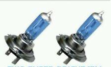 2 X BOMBILLAS LAMPARAS COCHE MOTO H7 4200K CRUCE O CARRETERA, LUZ + BLANCA CLARA
