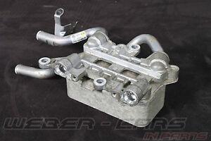 7P0317037 Audi Q7 4L VW Touareg 3.0 Tdi Atf Heater Oil Cooler 8 Gear Automatic