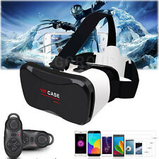 For Samsung Galaxy S8 S8 Plus VR Virtual Reality Headset 3D Glasses+Controller