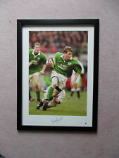 More details for brian o'driscoll signed/limited edition  rugby union photograph