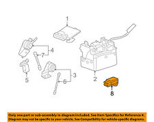 GM OEM ABS Anti-lock Brakes-Yaw Rate Sensor 25930324