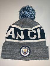 Men's Manchester City Champions League Multi-Colored Winter Pom Hat