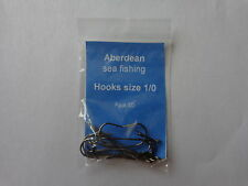 Sea fishing Aberdeen bronze hooks size 1/0 pack of 10