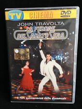 DVD FILM / LA FEBBRE DEL SABATO SERA CON JOHN TRAVOLTA - SORRISI E CANZONI -