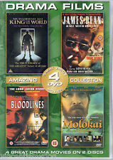 Molokai / Ali King Of The World / Bloodlines / James Dean Race With Destiny dvd