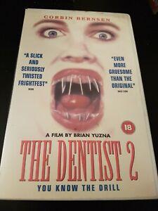 THE DENTIST 2 - BIG BOX HORROR - VHS - EX RENTAL - HIGH FLIERS