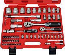 FAMEX 580-20 Profi Steckschlüsselsatz Ratschenkasten Werkzeugkoffer Nusskasten