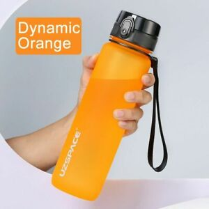 Water Bottle Sport BPA Free Portable Leak-proof Shaker Plastic Drinkware Outdoor