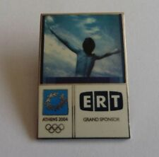 Ert Grand Sponsor, Athens Olympics 2004 Pin Badge.